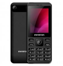 "Teléfono móvil básico INFINITON T2 - Negro, 2.4"", Dual..."