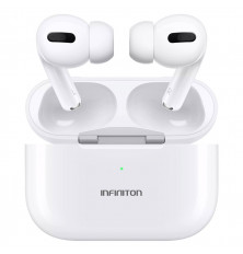Auriculares inalámbricos INFINITON BE-60 - Blancos,...