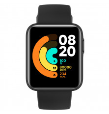 Smartwatch XIAOMI Mi Watch Lite - Negro, Pantalla a color...