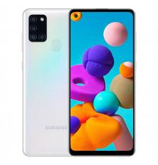 Smartphone SAMSUNG GALAXY A21S - Blanco, 128GB/3GB