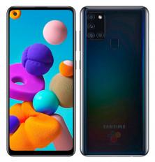 Smartphone SAMSUNG GALAXY A21S - Negro, 128GB/3GB