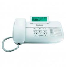 Teléfono GIGASET DA710 - Blanco, con cable