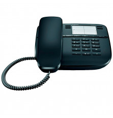 Teléfono GIGASET DA410 - Negro, con cable