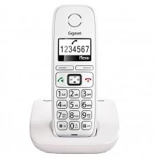 Teléfono Inalámbrico GIGASET E260 - Blanco, Agenda 120...