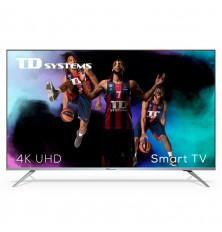 "TV LED 50"" TD SYSTEMS K50DLJ12US - 4K UHD, Smart TV,..."