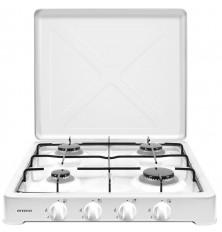 Cocina de Gas portátil INFINITON GGP-4F - Blanco, 4...