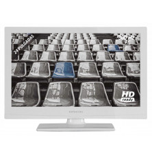 "TV LED 24"" INFINITON INTV-24L220 - Blanco, HD WXGA, USB,..."