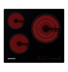 Placa de Vitrocerámica INFINITON VITRO316 - 3 zonas, Modo...