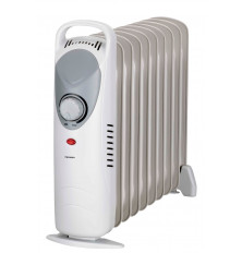 Mini radiador de aceite INFINITON HORM-1000 - Blanco, 1000W