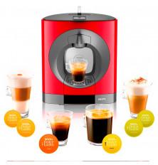 Cafetera KRUPS KP1105 Nescafé Dolce Gusto Oblo Roja, Manual