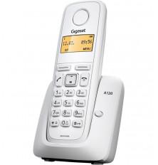 Teléfono Inalámbrico GIGASET A120 - Blanco, Agenda 50...