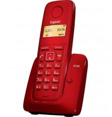 Teléfono Inalámbrico GIGASET A120 - Rojo, Agenda 50...