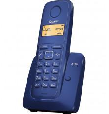 Teléfono Inalámbrico GIGASET A120 - Azul, Agenda 50...