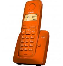Teléfono Inalámbrico GIGASET A120 - Naranja, Agenda 50...