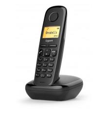 Teléfono Inalámbrico GIGASET A170 - Negro, Agenda 50...
