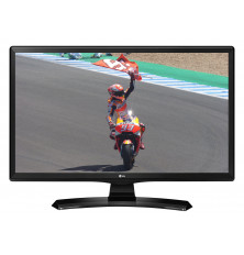 "TV-Monitor LED 24"" LG 24TK410V-PZ - Negro, HD Ready, USB..."