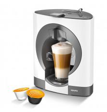 Cafetera KRUPS KP1101 Nescafé Dolce Gusto Oblo - Blanca,...