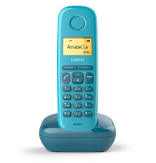Teléfono Inalámbrico GIGASET A170 - Azul, Agenda 50...