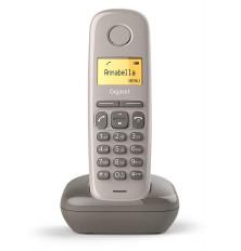 Teléfono Inalámbrico GIGASET A170 - Chocolate, Agenda 50...