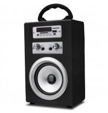 Altavoz Karaoke INFINITON K8 - Negro, Bluetooth, USB, SD,...