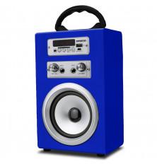 Altavoz Karaoke INFINITON K8 - Azul, Bluetooth, USB, SD,...