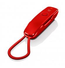 Teléfono sobremesa con cable GIGASET DA210 - Rojo,...