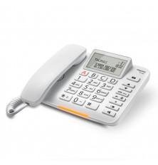 Teléfono sobremesa con cable GIGASET DL380 - Blanco,...
