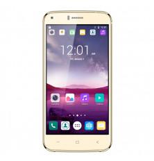 "SMARTPHONE INFINITON T5 - Dorado, 5.0"", Quad Core, 8GB/1GB"