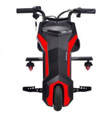 Triciclo eléctrico INFINITON CRAZY BIKE SUP - Negro-Rojo,...