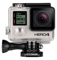 Cámara deportiva GOPRO HERO 4 Black - 12MP, Video 4K,...