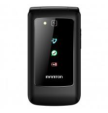 "Senior Phone INFINITON F1 - Negro, 2.8"", Pantalla dual,..."