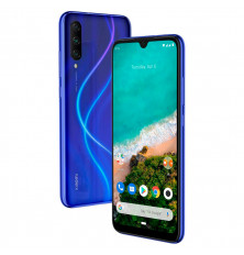 "Smartphone XIAOMI MI A3 - Azul, 128GB/4GB, 6"", Octa-Core, 4G"