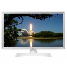 """TV-Monitor LED 24"""" LG 24TL510V-WZ - Blanco, HD, USB..."""