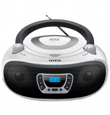 Reproductor CD/MP3 INFINITON MPCD-BT94 - Blanco,...