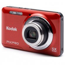 Cámara compacta KODAK CZ53 - Roja, 16MP, Zoom óptico 5x,...
