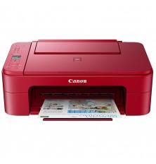 Impresora multifunción CANON PIXMA TS3352 - Roja,...